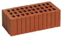 Кирпич керамический рядовой пустотелый утолщенный  Кр-р-пу 250×120×88/1,4НФ (полутоный)