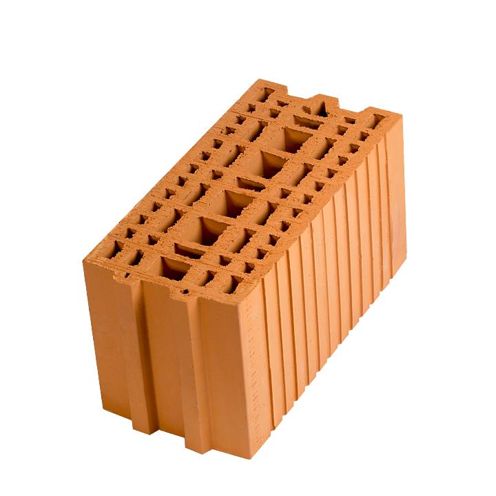 Керамический блок (камень) Porotherm 20 (PTH 20), поризованный