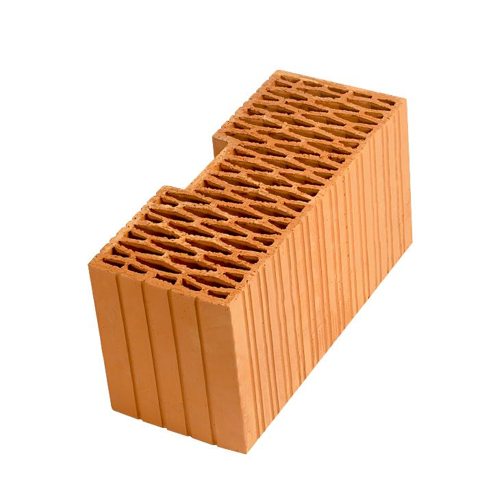 Керамический блок (камень) Porotherm 44R (PTH 44R), поризованный (доборный элемент)