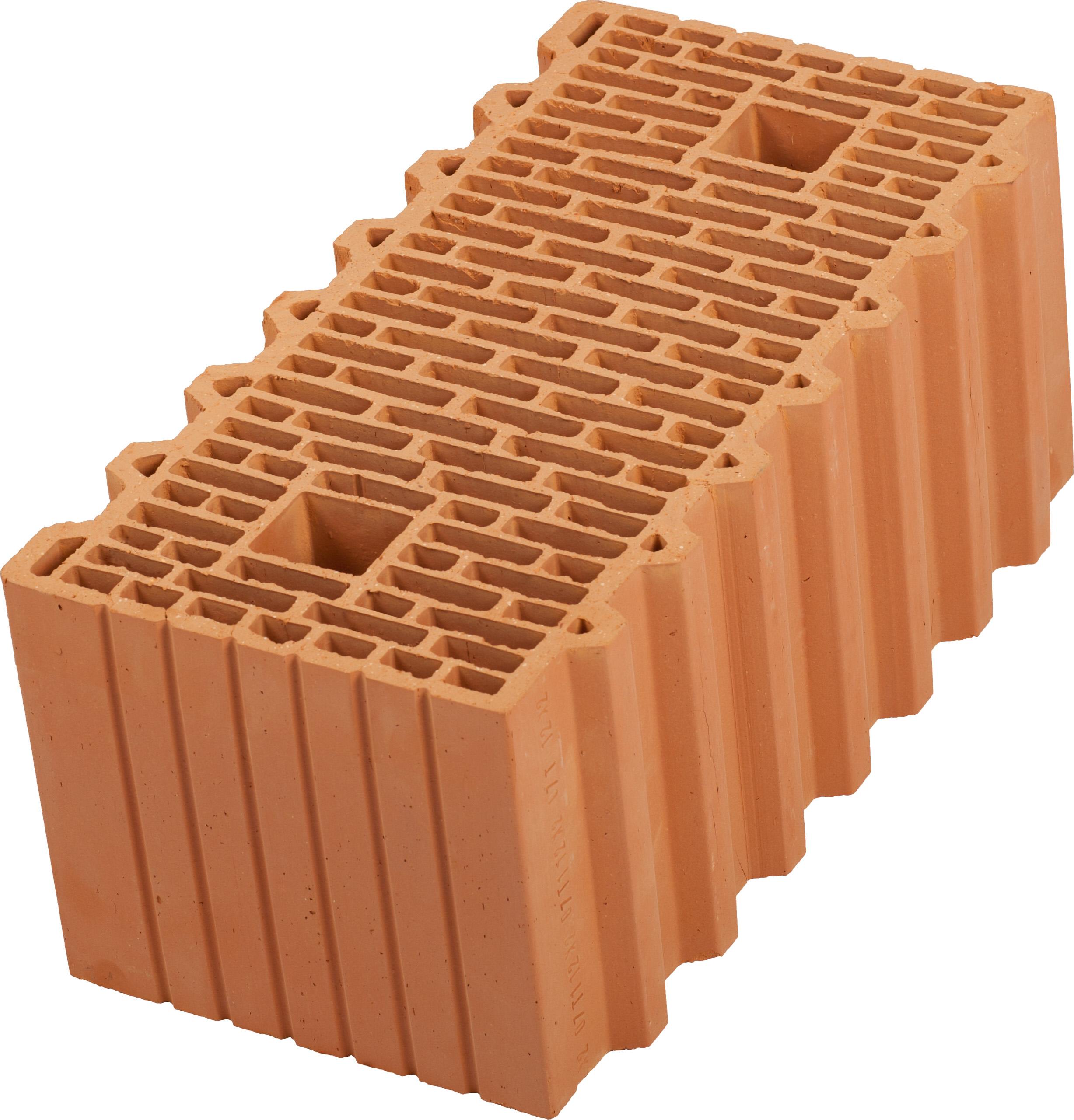 Керамический блок (камень) Porotherm 51 (PTH 51), поризованный