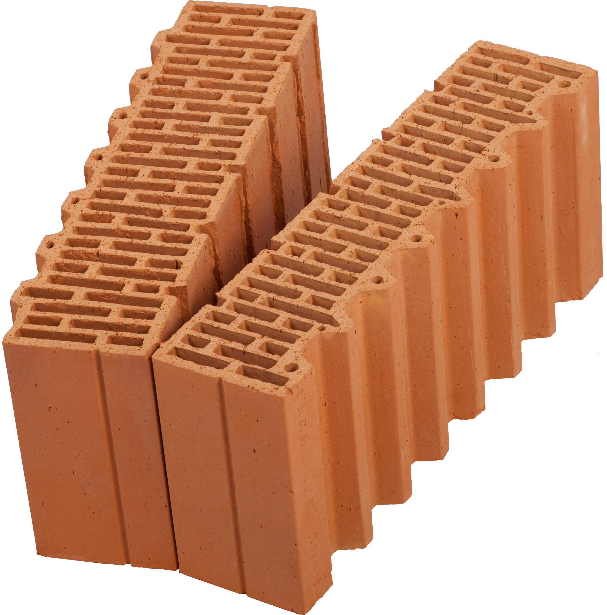 Керамический блок (камень) Porotherm 51-1/2 (PTH 51-1/2), поризованный (доборный элемент)